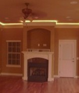 Fireplace, Real Estate Construction in Bentonville, AR